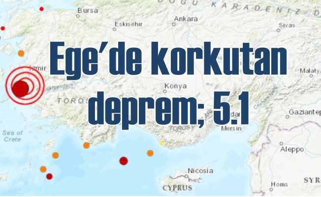 Seferihisar depremi Ege Bölgesi'ni salladı