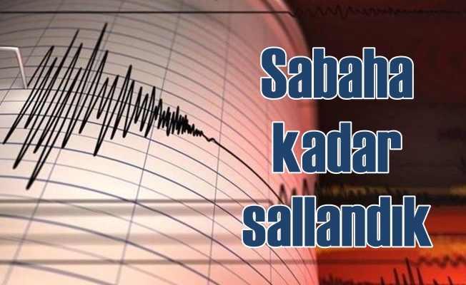 Son depremler | Ege ve Akdeniz bölgeleri beşik gibi sallanıyor