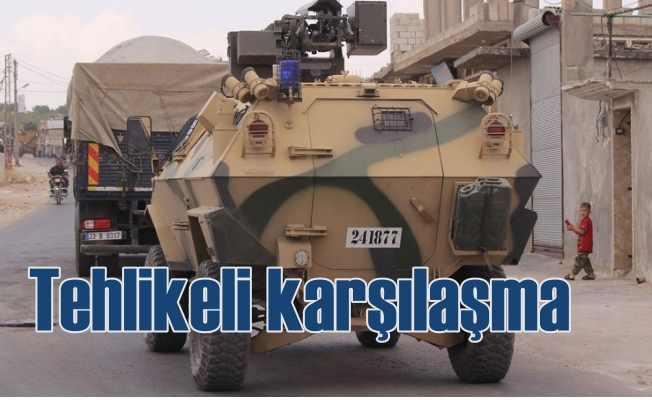 Suriye'de TSK ile rejim güçleri karşı karşıya