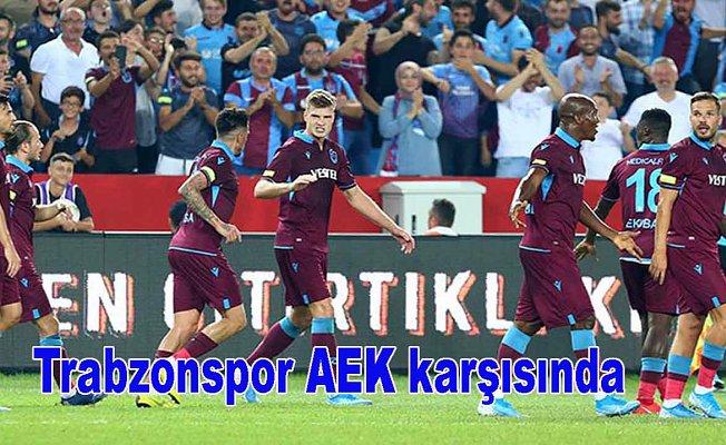 Trabzonspor tur için sahada