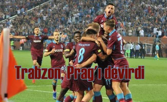 Trabzonspor, Sparta Prag'ı 2-1 devirdi