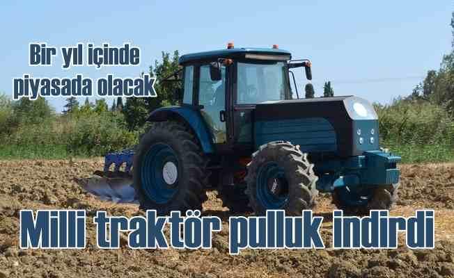 Türkiye'nin ilk milli elektrikli traktörü sahaya indi