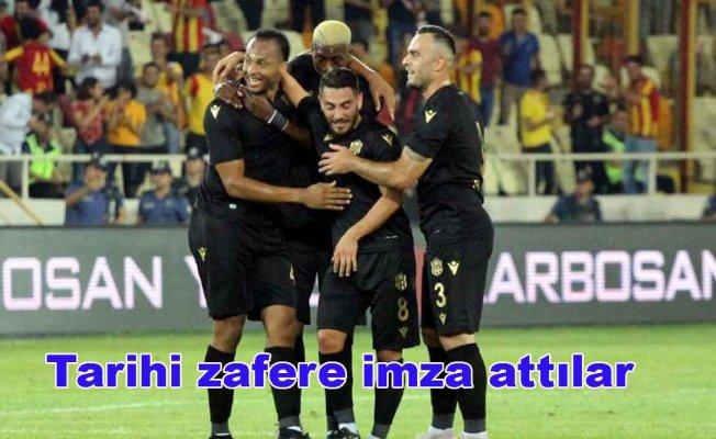 Yeni Malatyaspor'dan tarihi zafer