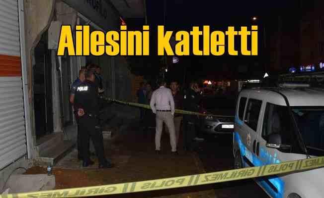 Aile katliamı | Annesini babasını kardeşlerini öldürdü