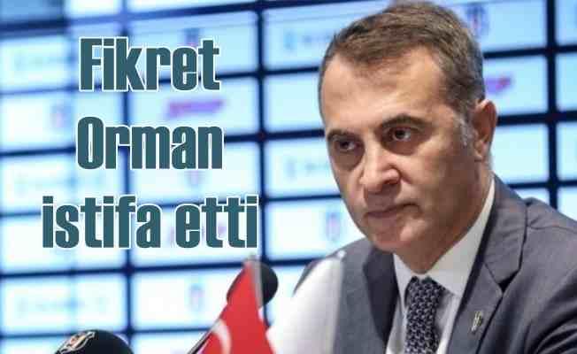 Beşiktaş'ta istfa şoku, Fikret Orman dönemi bitiyor