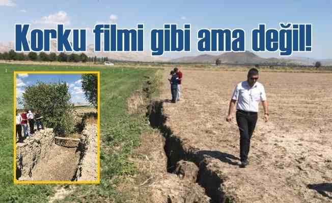 Bilinçsiz sulama, tarlaları deprem gibi yardı