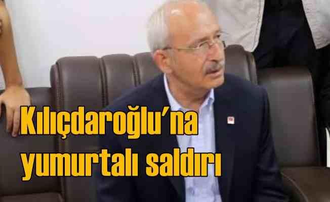 Kemal Kılıçdaroğlu'na Kuşadası'nda çirkin saldırı