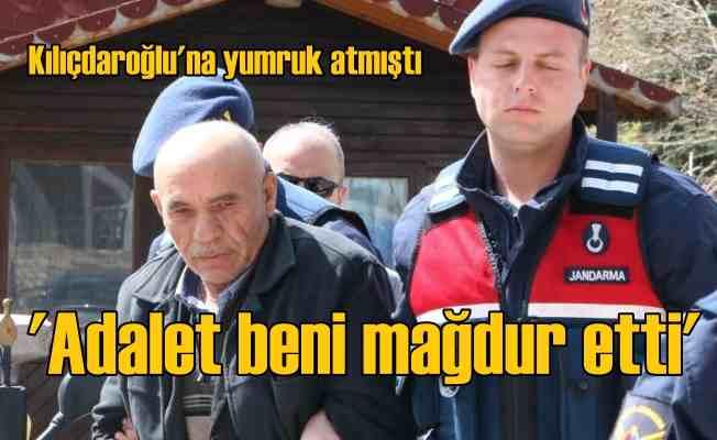 Kılıçdaroğlu'na yumruk atan adam mağdur olmuş