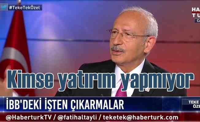 Kılıçdaroğlu'ndan önemli açıklamalar   Suriye ile aynı pozisyondayız