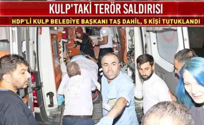 Kulp'ta PKK katliamı, HDP'li belediye başkanı da tutuklandı