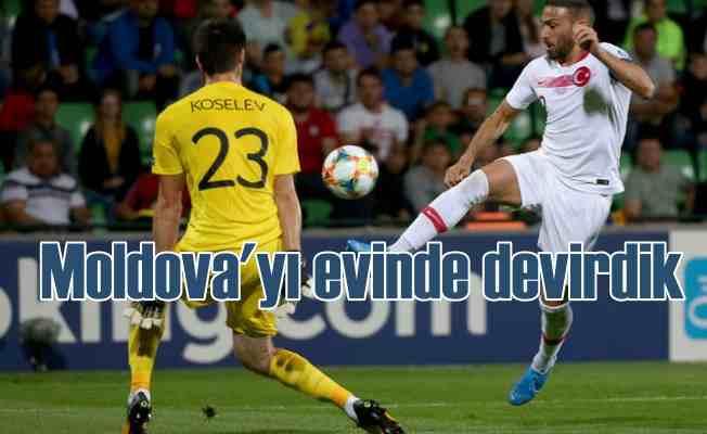 Moldova'da 3 puan mücadelesi | Moldova 0 - Türkiye 4