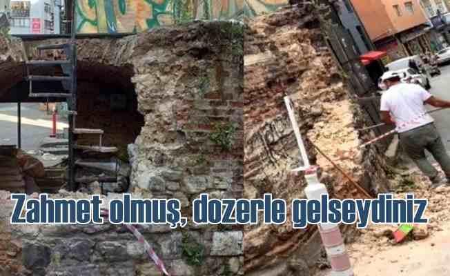 Restorasyon skandalı | 450 yıllık çeşmeyi restore etmek için yıkmaya kalktılar