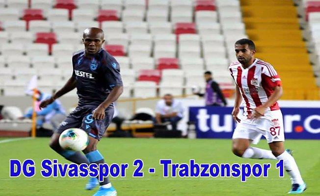 Sivasspor, Trabzonspor'a geçit vermedi