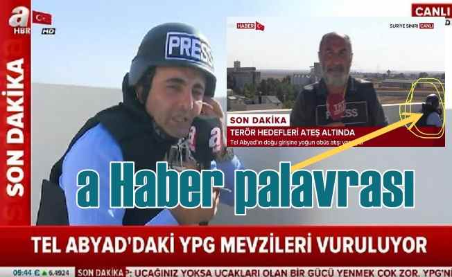 A Haber muhabirinin palavrasını TRT ortaya çıkardı