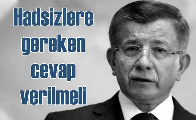 Ahmet Davutoğlu | ABD'den gelen heyete gerekli cevap verilmeli