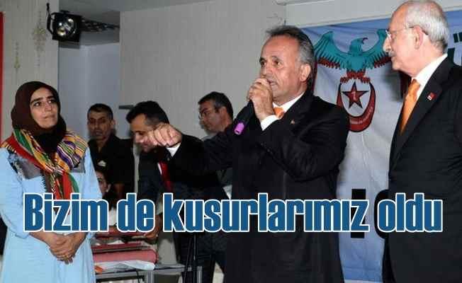 CHP Lideri Kılıçdaroğlu, 'Bizim de çok kusurumuz var'