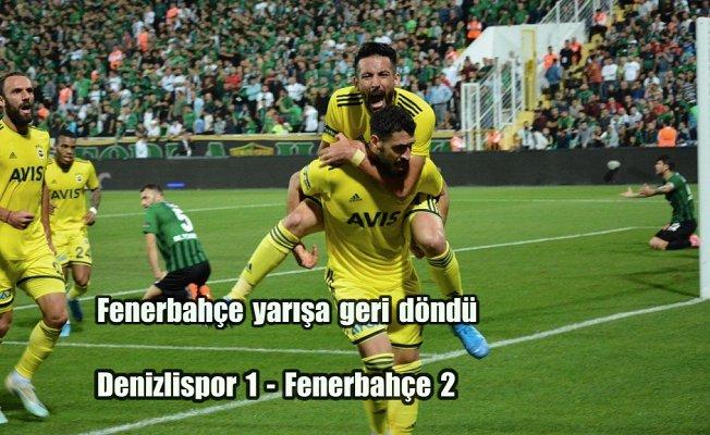 Fenerbahçe, Denizli'den 3 puanla dönüyor