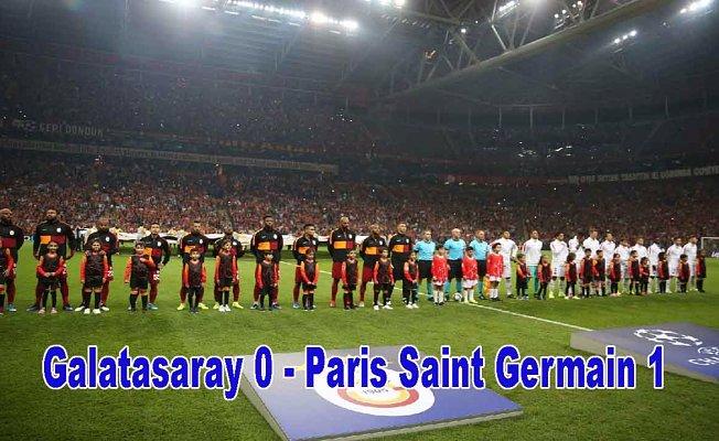 Galatasray,Paris Saint Germain'i elinden kaçırdı, Galatasaray 0 - Paris Saint Germain 1