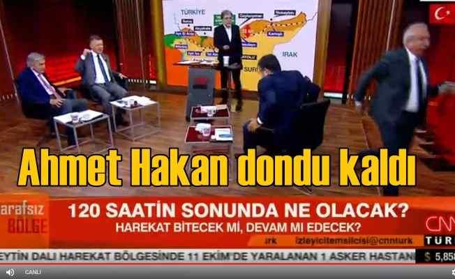 Irkçı Faşist tartışması | Orhan Miroğlu programı terk etti