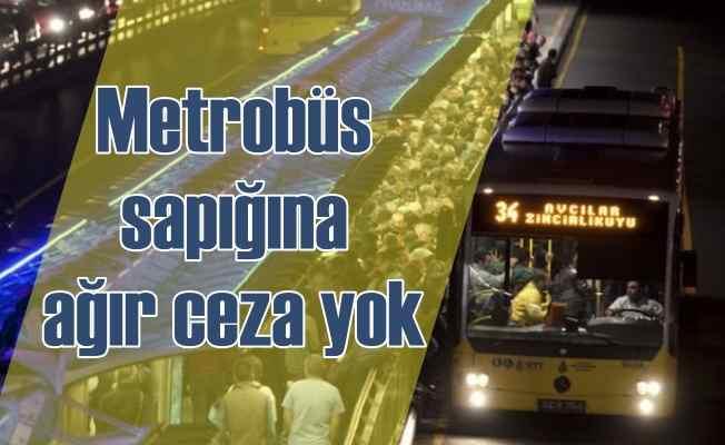 Metrobüs sapığını ağır cezadan mahkeme kurtardı