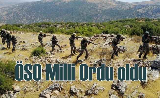 Özgür Suriye Ordusu, Milli Ordu oldu