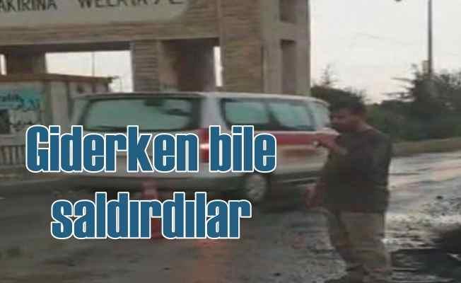 PKK'lı teröristler kaçarken saldırdı