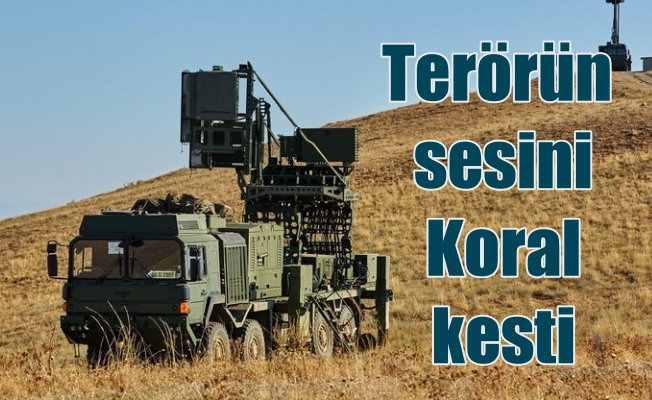 PKK'lı teröristlerin sesini ASELSAN'ın Koral'ı kesti