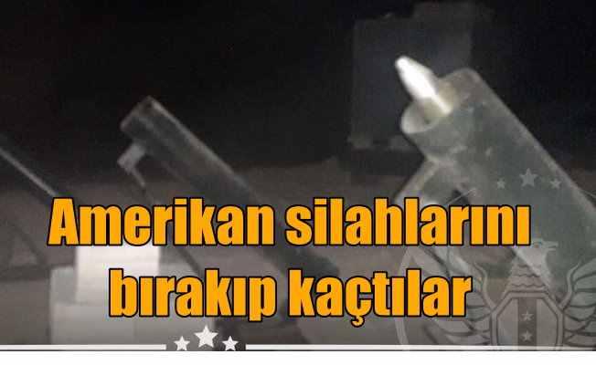 PKK'nın silah tedarikçisi ABD zorda   Amerikan silahlarını bırakıp kaçıyorlar