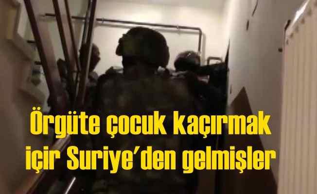PKK'ya çocuk kaçırmak için Suriye'den gelmişler