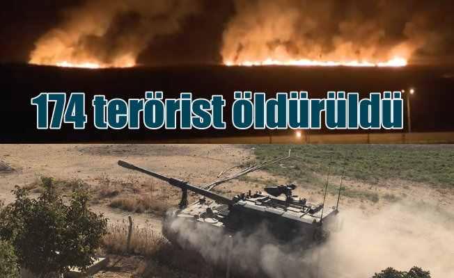 Suriye'de son durum | 219 terörist öldürüldü, teslim olanlar var