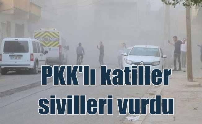 Terör örgütü Suruç'ta sivilleri vurdu, 2 ölü var