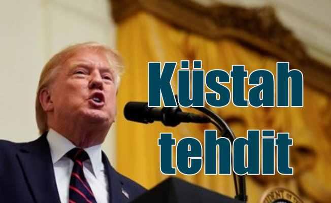Trump'tan Türkiye'ye küstah tehdit, Ekononizi yok ederiz