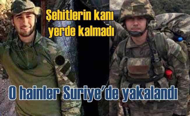 Afrin'de şehit naaşı kaçıran PKK'lılar yakalandı