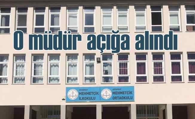 Aksaray'da skandala imza atan müdür açığa alındı