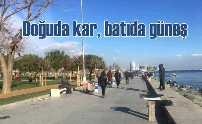 Bugün hava nasıl olacak | Doğu'da kar, Marmara'da güneş