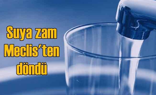 İstanbul'da su fiyatlarına zam Meclis'te kabul edilmedi