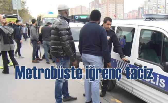 Metrobüs'te taciz iddiası, 2 Senagalli gözaltında