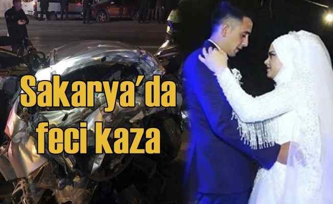 Sakarya'da feci kazada Uğurlu ailesi can verdi