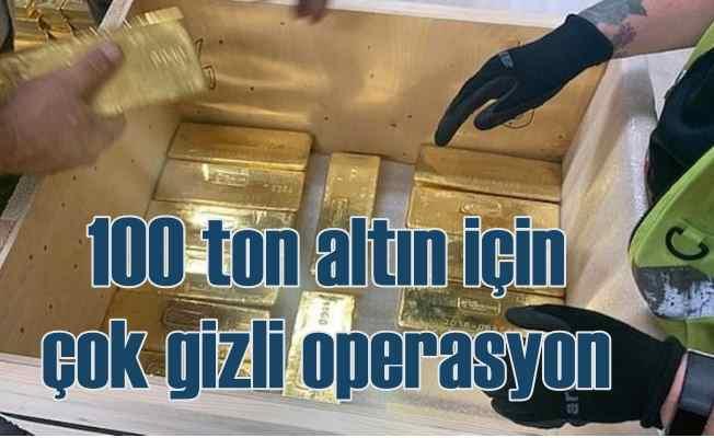 100 ton altın 80 yıl sonra geri getirildi
