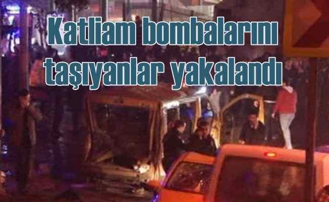Beşiktaş'a patlayıcı götürenler yakalandı!