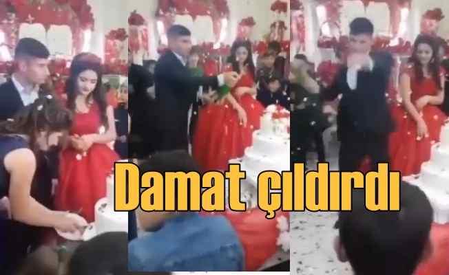 Damat düğünün ortasında sinir krizi geçirdi!