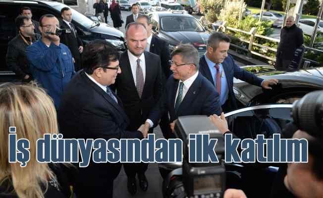 Davutoğlu'nun ekibine iş dünyasından ilk transfer!