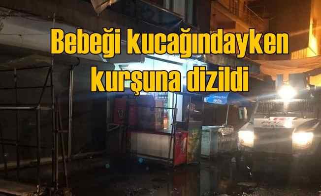 Diyarbakır'da korkunç olay, bebeği kucağındayken katledildi