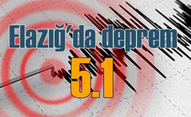 Elazığ'da deprem oldu, Elazığ Sivrice 5.1 ile sallandı
