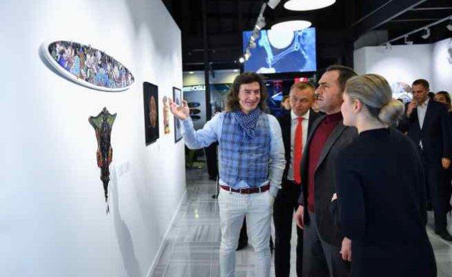 Emaye Dili sergisi Beyoğlu'nda açıldı
