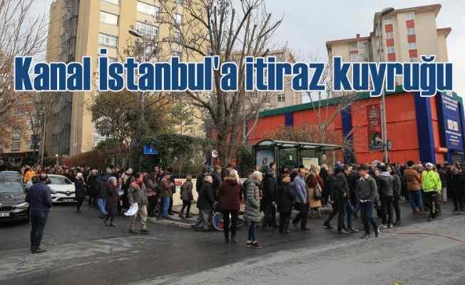 İstanbul itiraz için buluştu   Kanal İstanbul'a itiraz kuyruğu