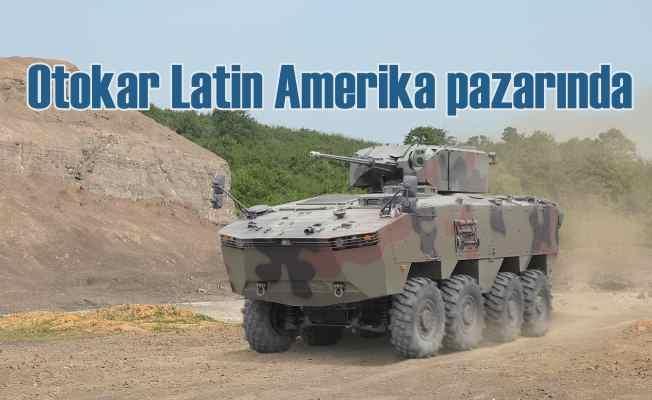 Otokar, savunma sanayindeki kabiliyetlerini Latin Amerika'da tanıtacak