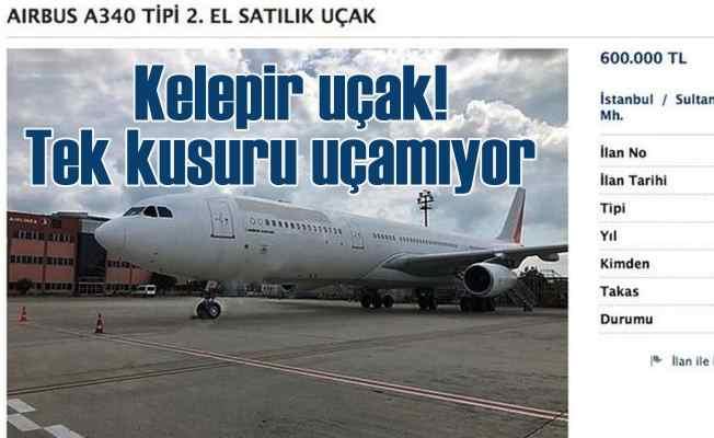 Sahibinden satılık kelepir yolcu uçağı