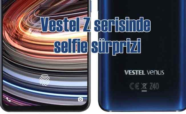 Venus Z40, selfie kamerası ile rakiplerine meydan okuyor