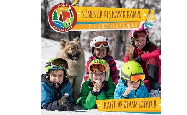 AKUT Doğada Yaşam Sömestir Kış Kayak Kampı kayıtları başladı